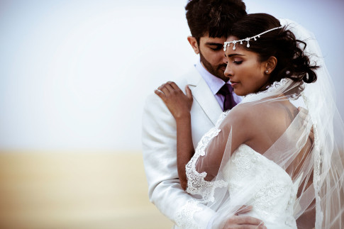 Arabic wedding couple photography by Blue Eye Picture Studio