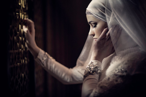 Arabic wedding photo shoot by Blue Eye Picture Studio