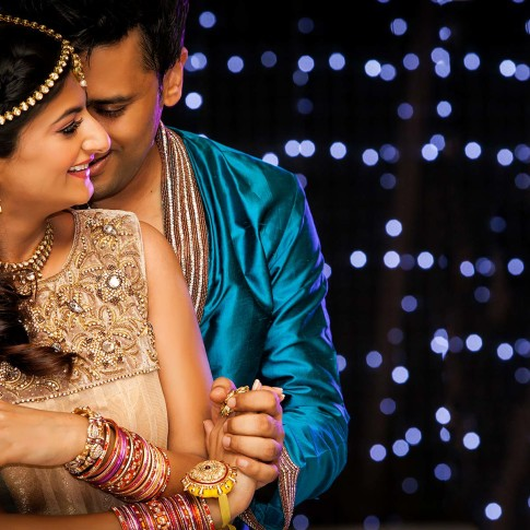 Indian wedding photo shoot by Blue Eye Picture Studio