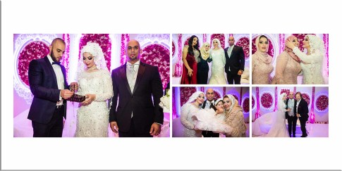 Real Wedding Pictures Album by Blue Eye Picture Studio