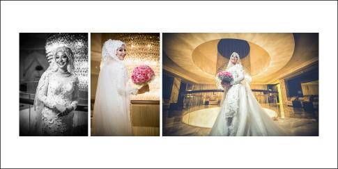 Real Wedding Album photos of Bride