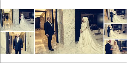 Real Wedding Album Photos of Bride and Groom